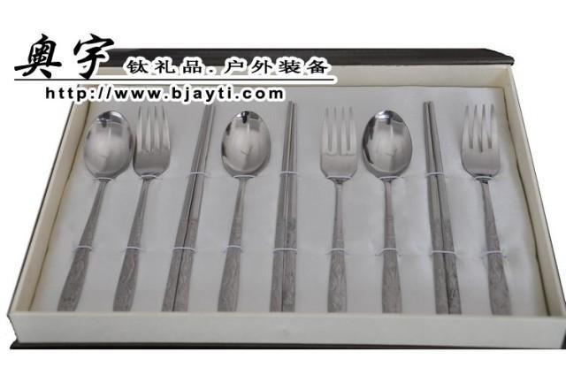 韓式鈦食具,鈦勺子,鈦叉子,鈦筷子