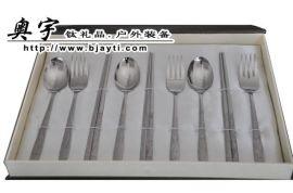 韩式钛餐具,钛勺子,钛叉子,钛筷子