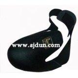 牛皮鐵製護腳套 防砸鞋頭 安全鞋頭