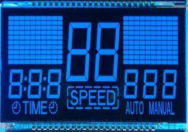 跑步机VA黑膜LCD液晶显示屏HCS90111