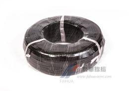 黑色编织电线 玻璃纤维电源线 家装电线宁波