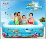 水美顏環保進口PVC充氣游泳池家庭加厚加大兒童成人充氣大水池