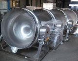 可傾斜式夾層鍋 電加熱純不鏽鋼炒鍋