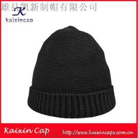 明星同款帽子女士毛線針織帽冬季保暖時裝帽歐美定製批發