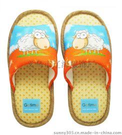 供应儿童卡通室内拖鞋生肖拖鞋男女童居家拖鞋厂家直销小额批发