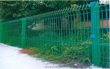 厂区围墙隔离网 车间安全隔离网 带边框护栏网 三角折弯护栏网
