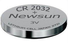 Newsun專業鈕釦電池、聚合物軟包及CR2032扣式電池