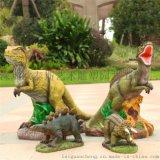 深圳歐泰斯玻璃鋼樹脂工藝品廠家定制動物雕塑大型大恐龍