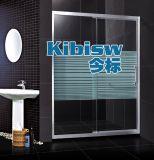 今標淋浴房廠家定制淋浴房一字形 304不鏽鋼浴室浴屏定做鋼化玻璃衛生間隔斷移門