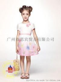 【红黄蓝】童装品牌 时尚T恤 一手货源折扣批发