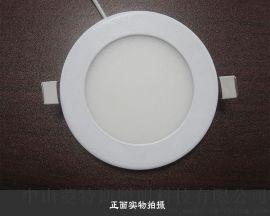 厂家批发LED室内照明圆形面板灯