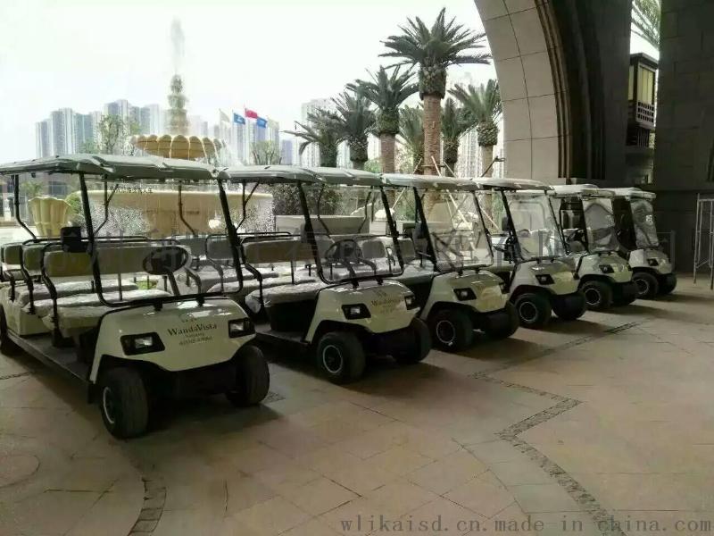 重庆八座高尔夫,巫山电动高尔夫看房车