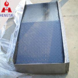 机床导轨钢板防护罩 机床伸缩金属护罩