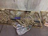 中式青古铜拉丝铝艺楼梯