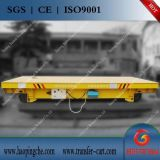 轨道转运车+电动平板搬运车+过跨钢包车