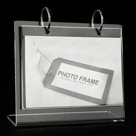 亚克力台历架 台历、日历、礼品、办公礼品、工艺礼品 有机玻璃制品