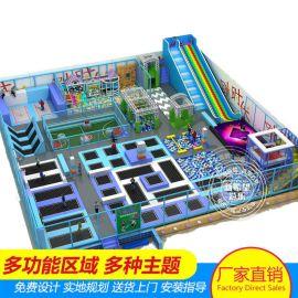 浙江小飞侠蹦床公园 室内儿童游乐场设备 蹦床馆加盟