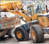矿山机车轮胎保护链 隧道轮胎保护链