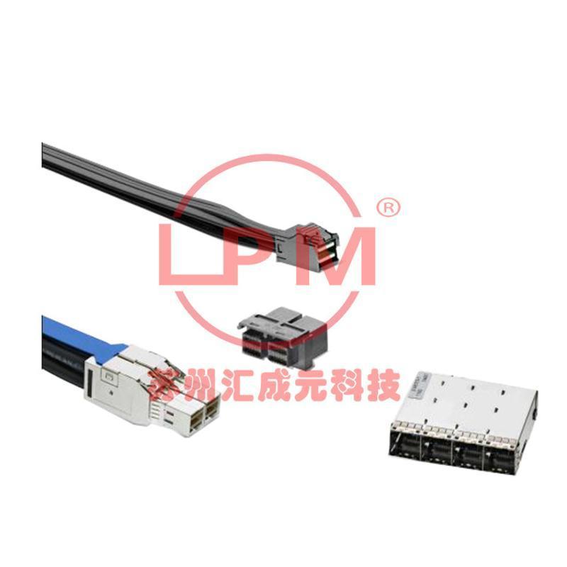 苏州汇成元电子供应TE2227595-1MINI SASHIGHDENSITY替代线缆组件