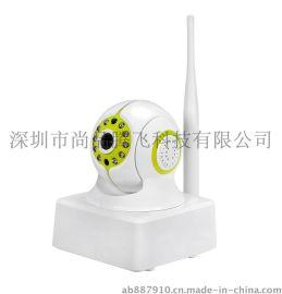 供应人体感应侦测移动报警网络摄像机 无线wifi
