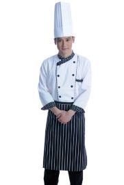 厨师服 厨房工作服  酒店厨房服装