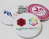 广州胸前校徽章,马口铁校庆徽章,佩戴校会徽章