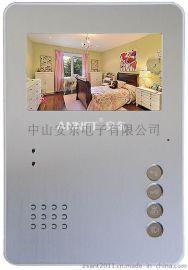 4寸彩色可视对讲门铃电话机小区楼宇对讲机