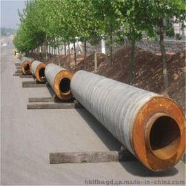 河北鑫金龙dn700直埋聚氨酯保温管生产厂家,保温基地