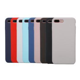 iphone8/8plus液态硅胶手机壳_苹果原装手机壳_官方九色
