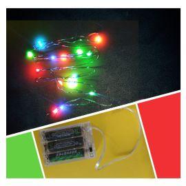 厂家批发高亮LED闪光铜丝灯