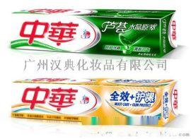 中华健齿白 清新薄荷牙膏