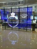 商场室内显示屏P3.91LED小间距透明屏