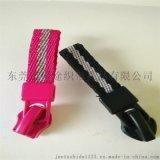 掛繩廠家定做新款服裝配飾帶織帶拉鏈頭滌綸織帶