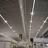 走廊吊頂木紋鋁方通 機場走廊裝飾吊頂 防潮不易變形