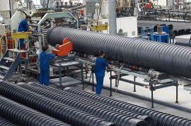 节流式承插克拉管厂家 hdpe增强缠绕排水管