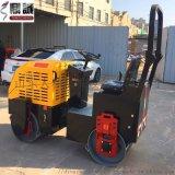內外兼修1噸雙鋼輪振動壓路機 全液壓柴油壓路機