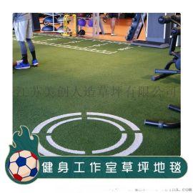 健身工作室草皮地毯壽命長耐磨無需衝砂工廠直銷