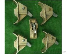 上海钢筋代替丝杆的山型卡弹簧式蝴蝶扣