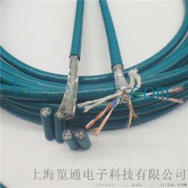 高柔性工业以太网电缆, 拖链工业以太网屏蔽网线