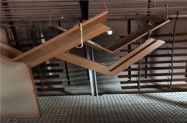 雕刻铝板隔断铝花格 金属方管铝板焊接花格门窗