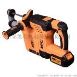 能者NZ80-01锂电池电锤带吸尘器、大功率大容量电池电锤产品厂家家直国产能者品牌电动工具