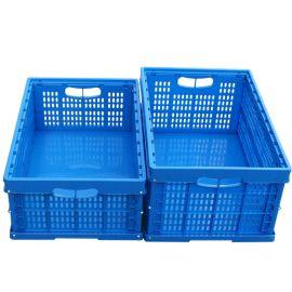 西诺折叠周转箱子 水果筐 汽车零配件工具塑料箱