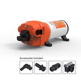 厂家直销 微型隔膜泵 直流电动微型洗车机泵 长款露营房车泵