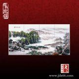 公司開業慶典禮品瓷板畫定做,定制禮品瓷板畫