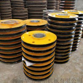 双梁起重机滑轮组 行车滑轮组 天车滑轮组 5吨直径300滑轮组 铸铁滑轮片