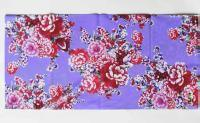 T-2191_紫底客家花布/ Fun's play 魔术头巾