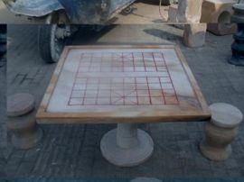 河南大理石石桌石雕 石桌椅  擦拭后一样光彩照人