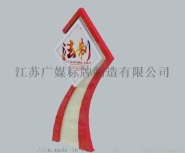 浙江温州鹿城区党建文化标牌宣传栏厂家