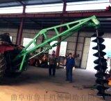 双鸭山山地挖坑机 新型挖坑机规格