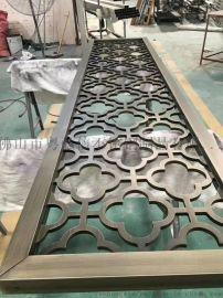 鋁板浮雕鏤空青古銅屏風 鋁雕門花 鋁雕門花圖片